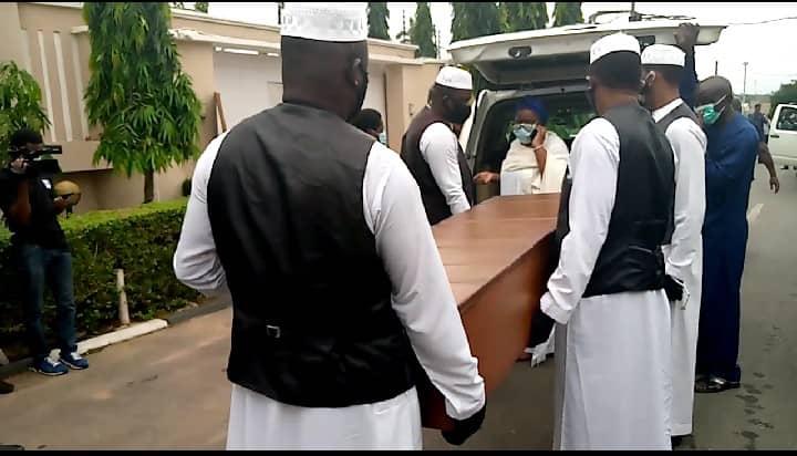 Abiola Ajimobi burial