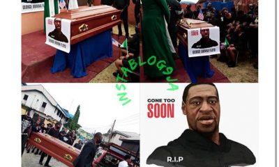 Pastor reburies George Floyd