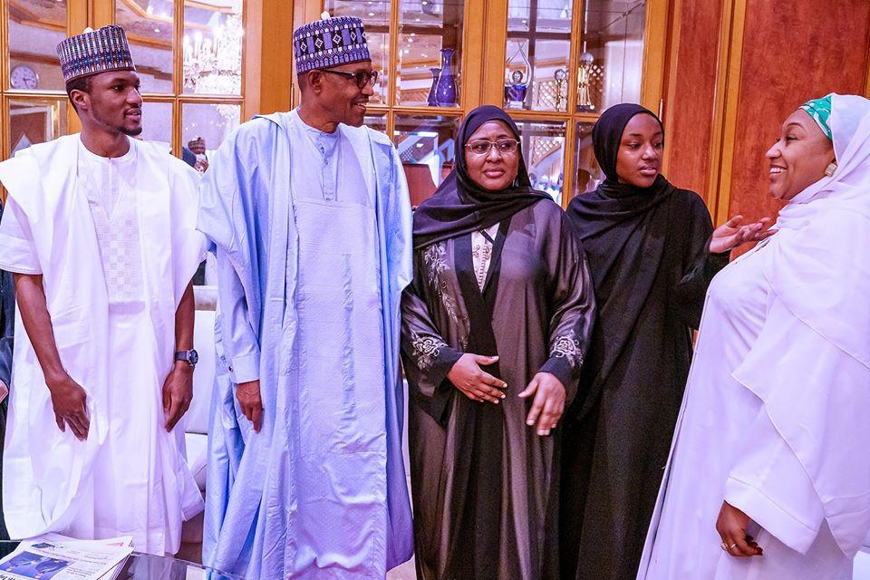 Buhari and families