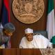 Buhari, Osinbajo, Governor meet