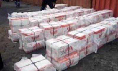 607 cartons of tramadol