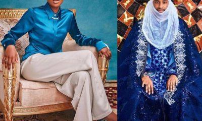 Hanan Buhari and fiancee