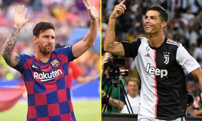 Messi tops Ronaldo