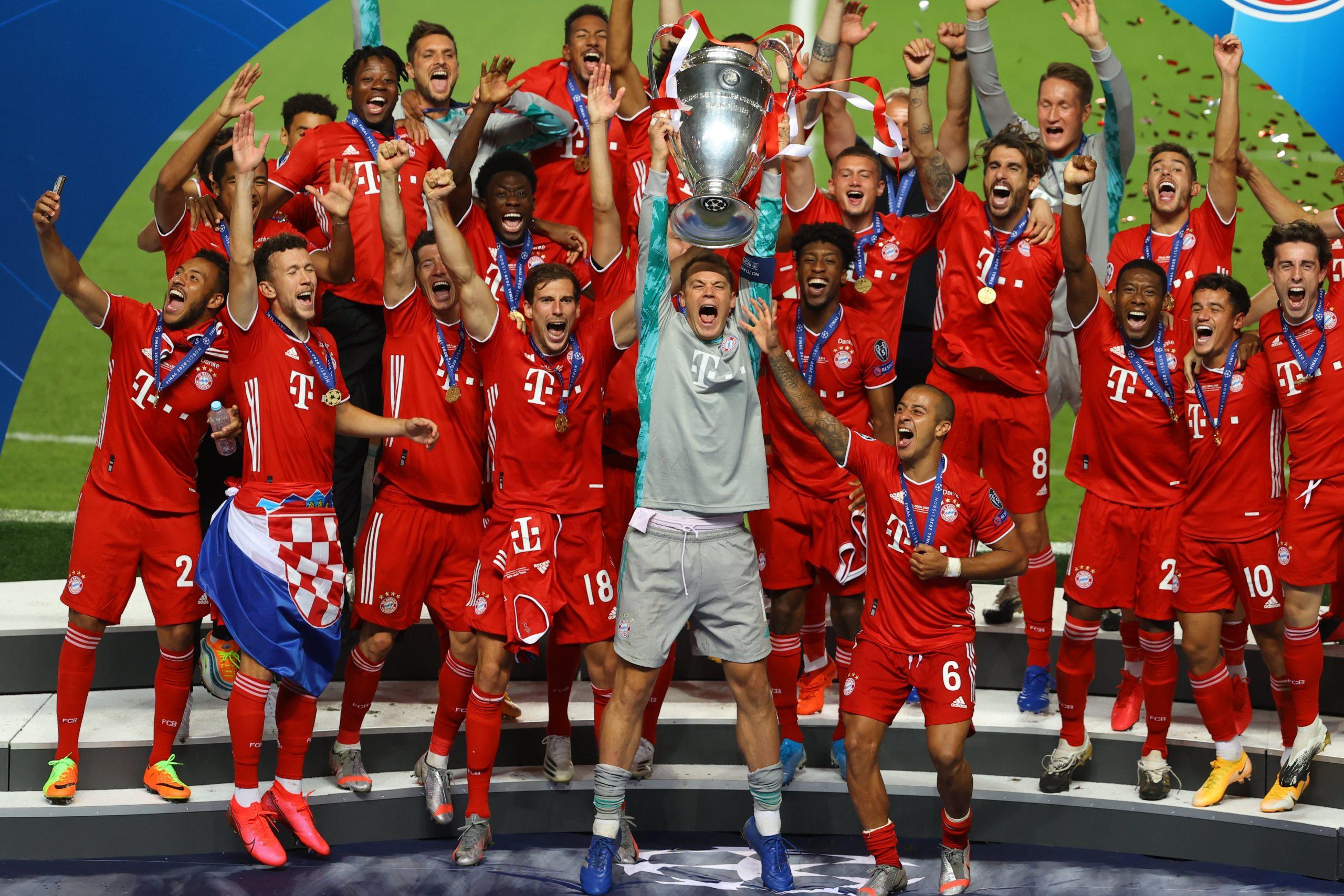 Bayern Munich wins Champions League