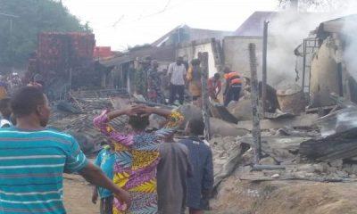 Tanker explode in Niger