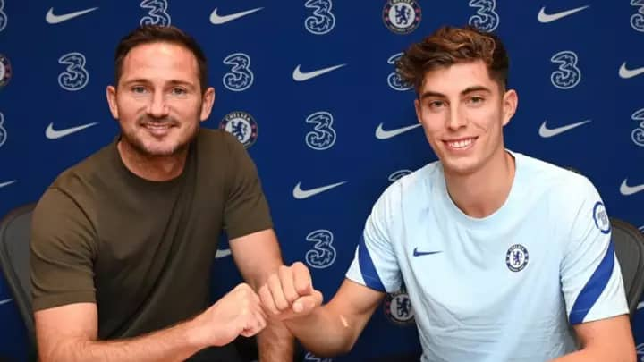 Chelsea sign Kai Havertz