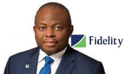 Fidelity Bank Chief Executive Officer, Nnamdi Okonkwo